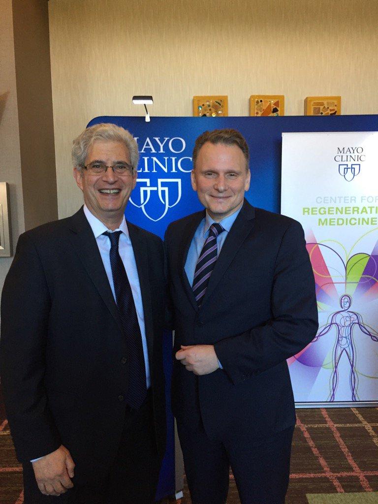 Mayo Clinic has credibility, prestige to be game changer in regenerative medicine, says keynote speaker Bernard Siegel.