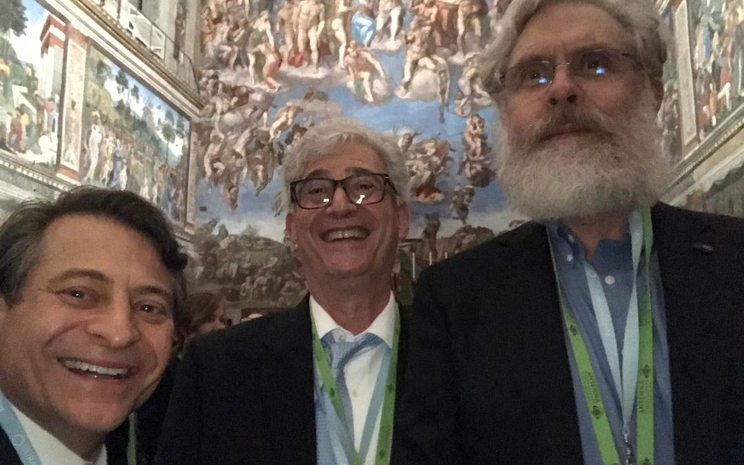 Quick story about this selfie taken under the Creation of Adam at the Sistine Chapel