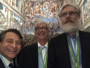 Selphie at the Sistine Chapel