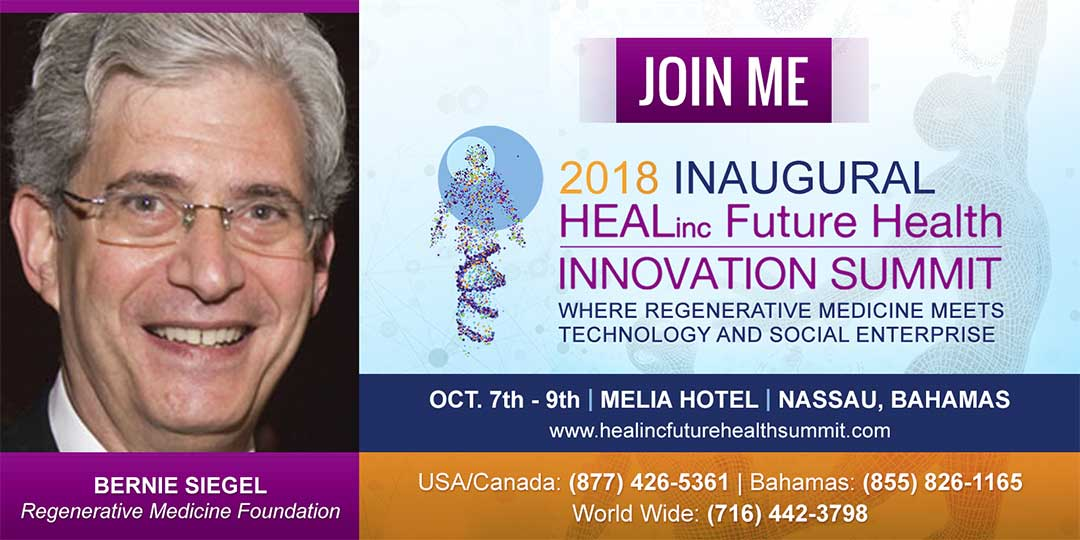 Join Me In The Bahamas October 7-9th 2018 for the 2018 Inaugural HEALinc Future Health Innovation Summit