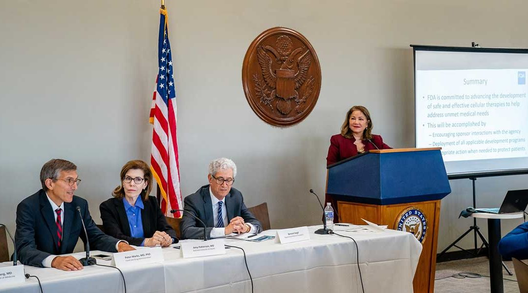 POLICY UPDATE: Key Take-Aways from Congressional Briefing on Regenerative Cell Therapies