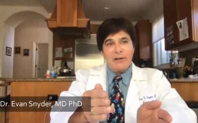 Dr. Evan Snyder Discusses the Nurturing Effect of Stem Cells for Neurologic and Pulmonary Treatments