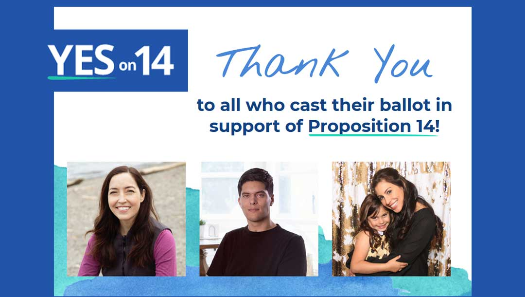 California Voters Deliver a Victory for Proposition 14